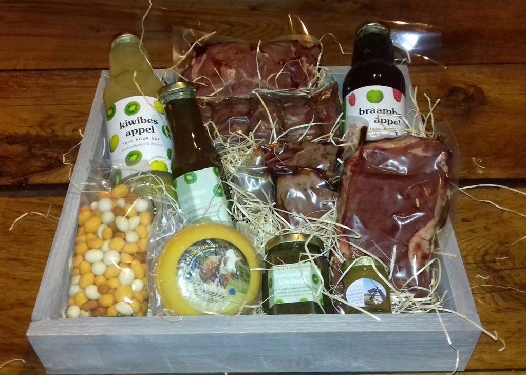Vlees kerstpakket Vleesboerderij Eesveen