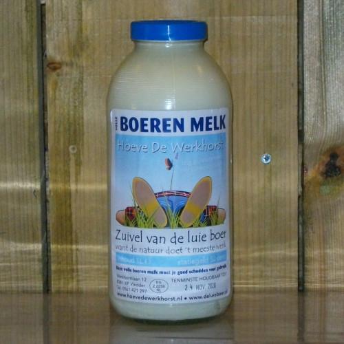 Boerenmelk van De Luie Boer